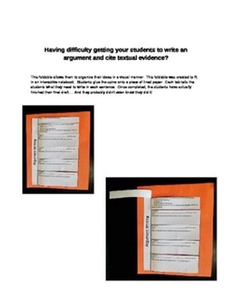 Elements of an Argument Essay & Worksheets - litstudiesorg